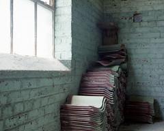 (.tom troutman.) Tags: kodak portra 400 film analog 120 50mm mamiya 7 mediumformat abandoned industrial nc 6x7
