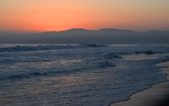 California Soul (megmcabee) Tags: beach venice usa sky pink ocean pacific sunset seashore california