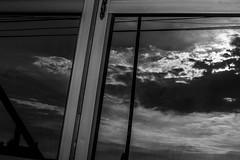 Sunset (Juan Waltero) Tags: sunset reflect bn bnw blackandwhite mirrow
