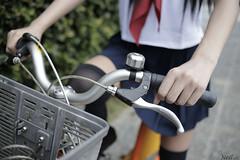 _MG_1833 Biking  (Neil Photo Studio) Tags:                      35mm ef35mmf2o ef35mmf20 2015 6d        taipei taiwan canon portraits primelens prime lens 101 101 101   uniform longsocks long socks bike ubike