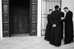 priests meeting # 1 / riunione tra preti # 1 (Vincenzo Elviretti) Tags: guadagnolo mentorella capranica preti priests riunione meeting cristianesimo cattolicesimo vaticano vatican catolic