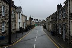 Glynliffon Street, Blaenau Ffestiniog (Walruscharmer) Tags: terracedhouses pavements slatetown street yellowlines gwynedd wales merioneth
