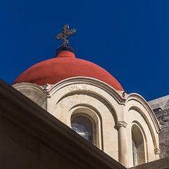 colorbox (lachesis2005) Tags: orthodox ortodosso cupola chiesa church croce cross valletta ilbelt malta