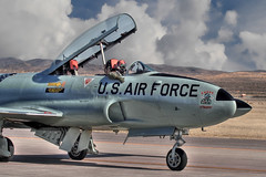 T-33 Shooting Star (glenhaas309) Tags: jet trainer usairforce shootingstar t33 acemaker
