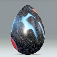 Laquered Web Eggr (seattlerayhutch45) Tags: abstract graffiti egg cracked digitalmanipulation eastereggs craquelure acdsee eggdecorating dumpr eggr
