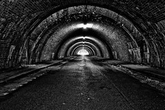 090/365 - Tunnel vision (Explored) (mATriX2305) Tags: street blackandwhite white black architecture deutschland outdoor 4 tunnel architektur nrw duisburg schwarz weis schwarzweis project365 strase ausenaufnahme everyday2013