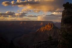 Grand Canyon sunset - 3-31-13  01 (Tucapel) Tags: sunset arizona cliff southwest night clouds landscape evening sandstone cloudy grandcanyon tag southrim ef24105mmf4lisusm naitonalpark theenchantedcarousel