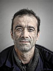 Simple man (Constantin Florea) Tags: portrait people man face photoshop canon retrato dragan • draganizer