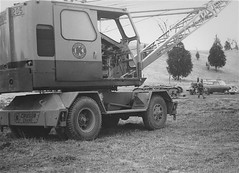 Grue mobile Koehring 205 ''Crane Cruiser''  (5) (PLEIN CIEL) Tags: mobilecrane koehring gruemobile cruisercrane gruemontéesurpalteaumobile