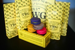 TEA (FORM 42) Tags: tea oolong macarons twg tieguanyin
