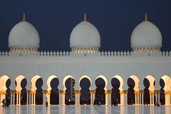 Aspects of the Sheikh Zayed Mosque in Abu Dhabi (CharlesFred) Tags: uae mosque abudhabi cami masjid mesjid sheikhzayedmosque