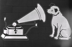 His Master's Voice (Steve Snodgrass) Tags: dog mascot victrola rca phonograph