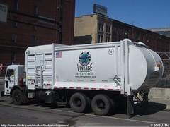 Vintage Waste Services Inc. 10 (TheTransitCamera) Tags: truck vintage systems waste refuse peterbilt asl mcneilus autoreah