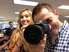 Claire & Sebastian (Sensaet) Tags: office company startup paloalto siliconvalley app photosharing cooliris photosha