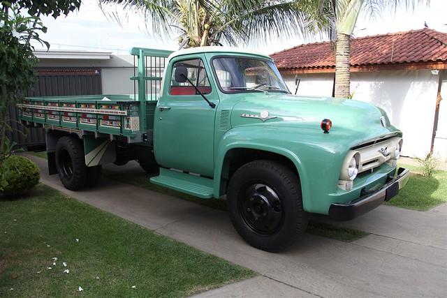 brazil ford truck 1956 f500