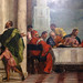 Detail of standing figure left, Paolo Veronese, Feast in the House of Levi