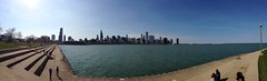 Chicago from Northerly Island today. I love our city. (pmonaghan) Tags: chicago island panoramic adlerplanetarium northerly uploaded:by=flickrmobile flickriosapp:filter=nofilter