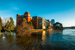GRAND RAPIDS FLOOD 2013-1436 (RichardDemingPhotography) Tags: flooding flood michigan grandrapids grandriver grandrapidsmichigan floodwater westmichigan downtowngrandrapids puremichigan flood2013 michiganflooding grandrapidsflood
