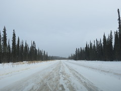 Normal winter driving on the North Klondike Highway (jimbob_malone) Tags: yukon 2013 northklondikehighway