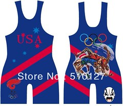 Can get in any size!!! Only for sale!! (SwaggerJacker23) Tags: blue red usa white black green yellow wrestling flag american olympic singlets