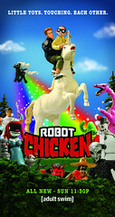 Robot Chicken Billboard / Bus Stop Ads (jeffyster) Tags: honda miniature starwars puppet spy animation directorofphotography dccomics adultswim bing stopmotion pinto cartoonnetwork robotchicken fueltv jeffgardner moralorel socalhonda spyvs