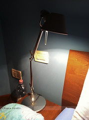 112/365 Tolomeo (hachiko_it) Tags: light italy lamp night table switch bed bedroom pillow blanket micro bedside day112 tolomeo artemide iphone iphoneography day112365 3652013 chiarasirotti 365the2013edition 22apr13