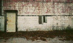 Coke is It! Grimes, Alabama (RebeccaJWoodham) Tags: sign store decay painted alabama ad coke advertisement southern cinderblock