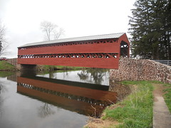Sachs Covered Bridge (MCandJenny) Tags: trip flowers mountain holiday canon spring gun ground battlefield troops hollow roundtop soilder gettysburgpennsylvania bsttle