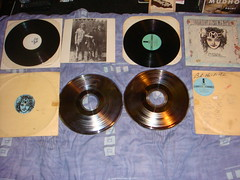 melvins ozma test press and stampers (old ernie) Tags: