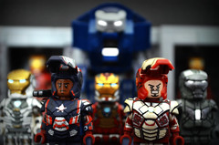 LEGO Iron Man 3 Preview (MGF Customs/Reviews) Tags: 3 man hall iron lego mark armor figure patriot shotgun custom marvel igor gemini 42 heartbreaker of