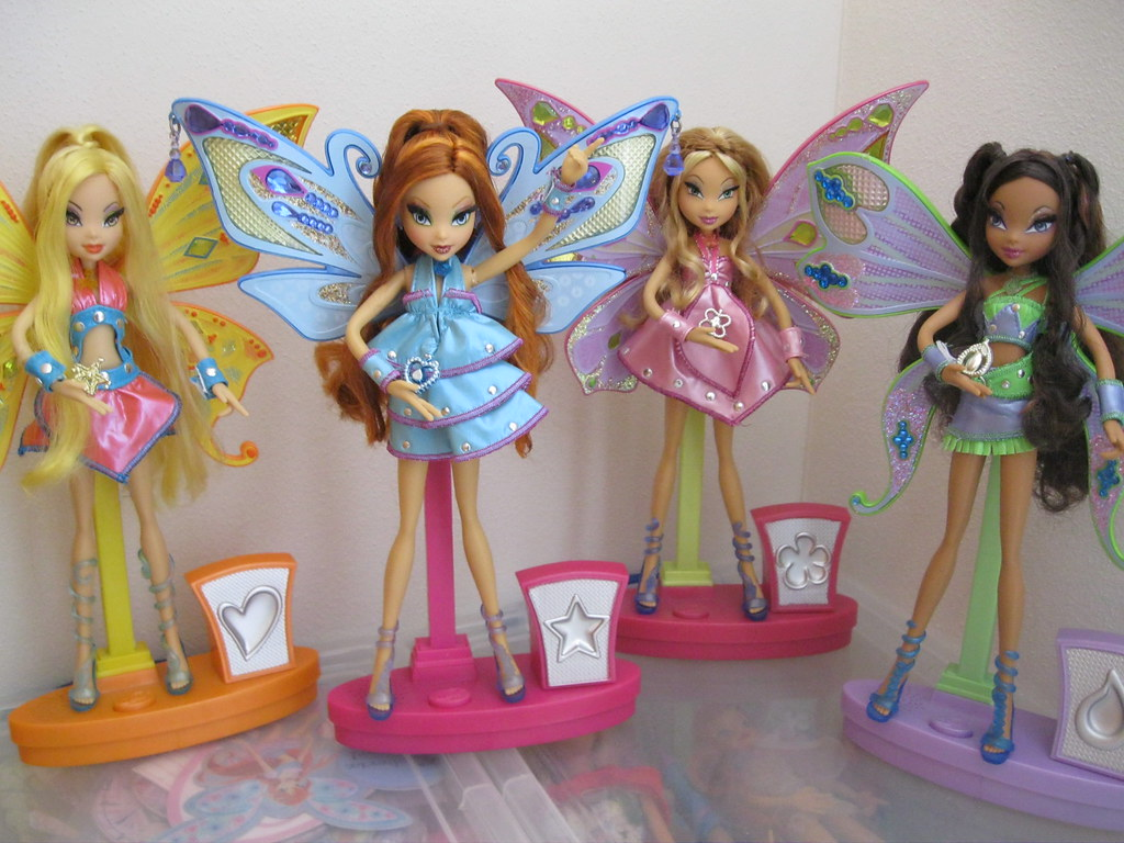 The World's Best Photos of 3 and winx - Flickr Hive Mind Winx Club Flora Enchantix Doll