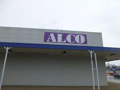 Alco closing in Vermilion, Ohio (Nicholas Eckhart) Tags: ohio wheel retail big former closing stores department fishers vermilion alco 2013