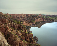 (Andrs Medina) Tags: film mediumformat landscape spain 6x7 barrancas andresmedina