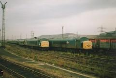 Scrap Locomotives in Tinsley Secondary Yard