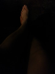 thoughts before sleeping (Sciabonzina) Tags: feet dark riposo rest piedi buio flickrandroidapp:filter=none