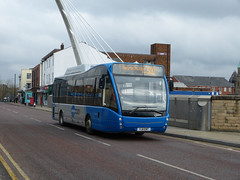 South Lancs 61 130320 Bolton (maljoe) Tags: versa slt optare greentriangle optareversa strawberrybuses southlancashiretravel