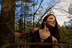 """""""All that we are not stares back at what we are"""" (2013) (dvsmith) Tags: woman usa color art beautiful female canon nc fine naturallight redhead nocrop hillsborough nonnude 1dmarkiii copyrightdanielvsmith thephotosmithcom lamaupin mm2642652"""