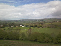 View from the path to the Black Mountains looking towards Talgarth (John Steedman) Tags: wales cymru talgarth blackmountains powys paysdegalles   breconshire