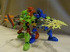 "The ""Rookies"" (BillyRockets) Tags: team factory nathan lego mark william hero preston natalie alpha jimi julius surge dunkan evo stringer bulk moc rocka stormer nex breez furno"