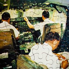 You Figure It Out (Thomas Hawk) Tags: sanfrancisco california usa airplane airport unitedstates sfo unitedstatesofamerica cockpit puzzle sanfranciscointernationalairport