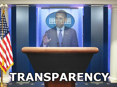 Obama's Transparency (HitAndRun) Tags: transparency obama