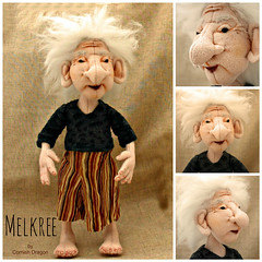 melkree4 (CornishDragon) Tags: ooak merino troll clothdoll cornishdragon