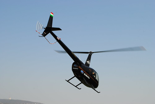 Robinson R44 Chopper take-off