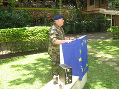 Mission Commander Brig. Gen. Gerald Aherne speech (European External Action Service - EEAS) Tags: operations missions somalia eeas eutm csdp