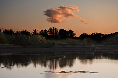 Evening (Werner Koenig) Tags: ireland sunset cloud nature see evening nikon natur irland westport comayo d90 nikon90
