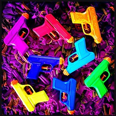 Candy Cigarettes (Baky) Tags: blue orange color colour green art colors yellow japan toy toys colorful neon gun pattern colours arty bright artistic vibrant patterns jesus cartoon sanjose kitsch plastic repetition psychedelic wacky hue cartoonish iphone barky   wowiekazowie iphoneography baky barkyvision