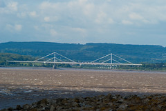 Wye Bridge (willumhg) Tags: uk bridge sea england wales river sony tide estuary severn a200 chepstow wye beachley