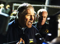WA State Gov. Jay Inslee (Kyra Betteridge) Tags: news photojournalism front collapse western skagit wwu washignton lynnpeterson jayinslee johnbatiste skagitriverbridge