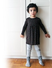 stretchy stars dress (190.arch (aka mamma190)) Tags: girl dress sewing nia jersey knits rayon bambina costura cucito