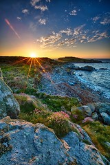 Sunset at Fort Le Marchant (PhotoToasty) Tags: sunset guernsey subtlehdr fortlemarchant